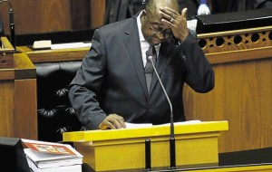 WHAT TO DO? Finance Minister Nhlanhla Nene faces an odious task on Wednesday when he delivers the mini-budget Image by: Supplied