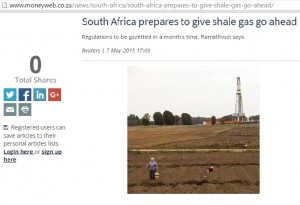 South Africa prepares to give shale gas go ahead